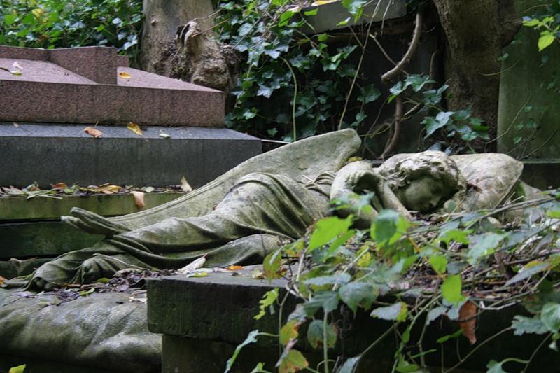 Хайгейтское кладбище. Это