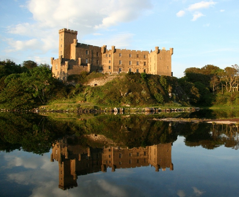 Замок Данвеган.